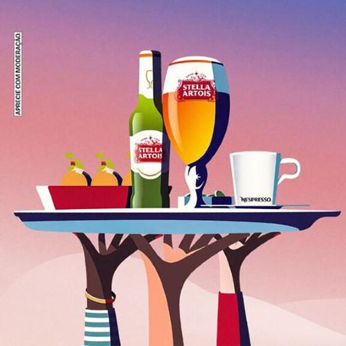 Apoie um restaurante: Movimento de Stella Artois está de volta