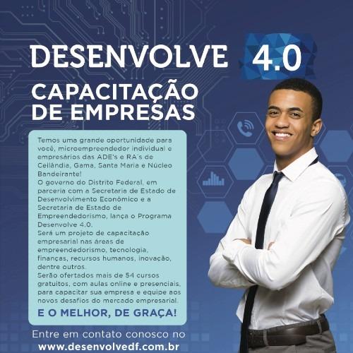 Programa Desenvolve 4.0 – Cursos Gratuitos de Capacitação empresarial