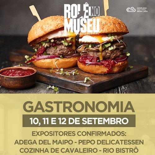 Rolê no Museu – Gastronomia