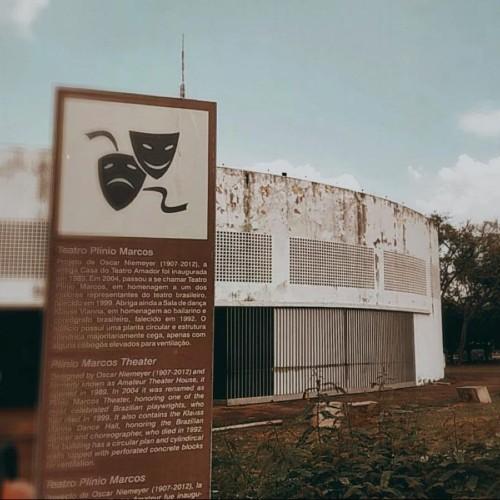 Secec autoriza reforma do teatro Plínio Marcos